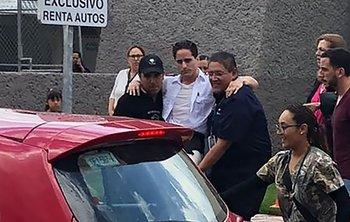 Algunos heridos fueron trasladados en vehículos particulares a los centros médicos.
