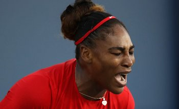 Serena Williams nunca había perdido un partido sin haber ganado por lo menos dos juegos.