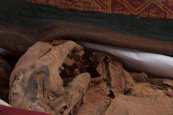 Las momias corresponde a una niña de 8 años y una joven de 18.