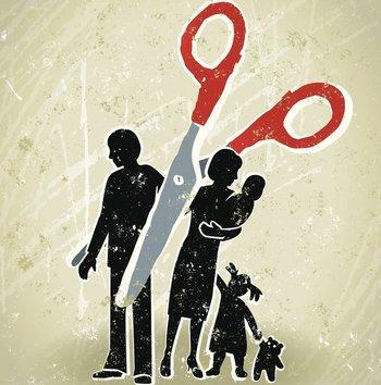 La ausencia paterna puede llegar a tener un efecto muy dramático en la dinámica familiar.