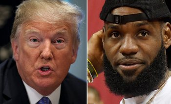 Donald Trump publicó un comentario en Twitter después de que la estrella del baloncesto lo acusara de divisionismo.