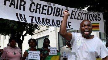 Zimbabue volvió a las elecciones democráticas tras la era Mugabe, pero la violencia y tensión del viejo régimen no quedó en el pasado.