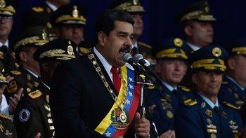 Nicolás Maduro: el presidente venezolano ha acusado a Colombia de estar detrás de un intento de asesinarlo.