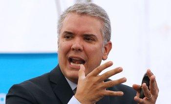 Duque estará alñ mando de Colombia los próximos cuatro años.