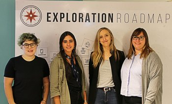 Romina Calcagno, Cecilia Pardiez, Valentina Carracedo, Vanina Di Blasi.