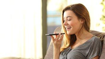 ¿Sabías que puedes escribir con tu voz?