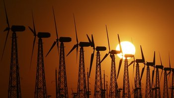 Fuerte presencia de la energía eólica