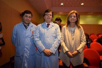 Carlos Quintero, Eduardo Grandal y Gabriela Turra <br>