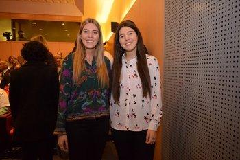 Lucia y Magdalena Martinez <br>