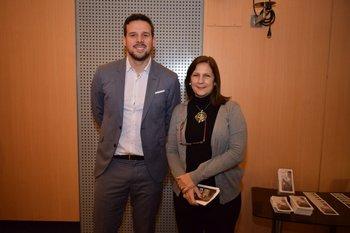 Álvaro Toma y Ana Fernández <br>