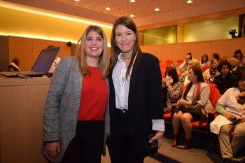Viviana Medina y Ana Clara Bello <br>