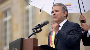 Iván Duque asumió la presidencia de Colombia el 7 de agosto.