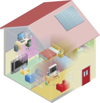 Con este truco puedes direccionar el wifi a ciertas zonas de tu casa