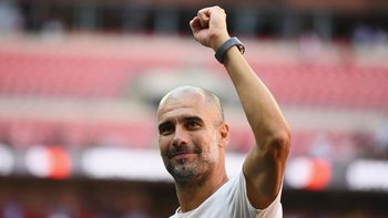 Pep Guardiola ganó dos veces la Orejona con Barcelona como DT, pero nunca la consiguió con Manchester City