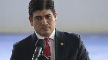 Carlos Alvarado ganó la presidencia en abril prometiendo defender los derechos de las uniones de personas del mismo sexo