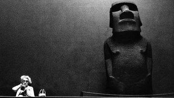La figura, extraída hace 150 años de la Isla de Pascua, ha pasado por varios lugares del Museo Británico y de Londres.