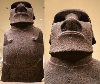 El moai se encuentra hoy en la sala 24 del Museo Británico.