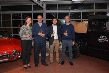 Cristina Santoro, Eduardo Boido, Manuel Bouza y Nestor Merino