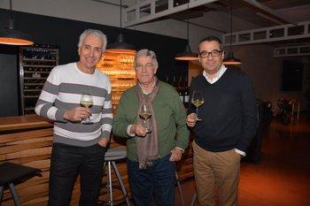 Eduardo Iturralde, Eduardo Lanza y Omar Ichuste