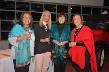 Ana Burgos, Silvia Vieira, Silvia Escudero y Beatriz Cordano