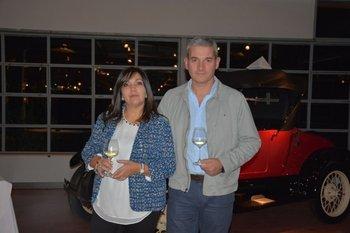 Virginia Torres y Pablo Revetria