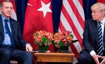 Los gobiernos de Erdogan y Trump tienen posturas contradictorias en numerosos temas.