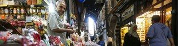 Damasco, Siria, ha sido devastada por la guerra.