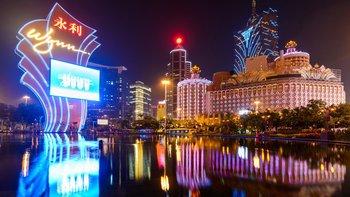 Macao está lleno de casinos.
