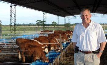 Álvaro Simeone, director de la Unidad de Producción Intensiva de Carne, UPIC.