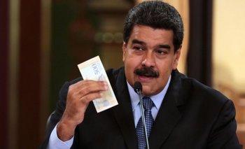 El presidente de Venezuela, Nicolás Maduro, presentó un plan económico para el país que incluye una nueva moneda.