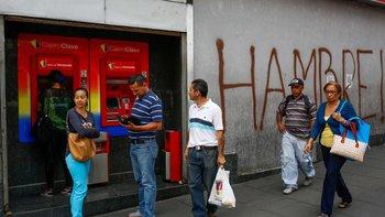 El FMI estimó una inflación de hasta un millón por ciento para Venezuela este año.