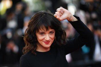 Asia Argento en la última edición del festival de Cannes<br>