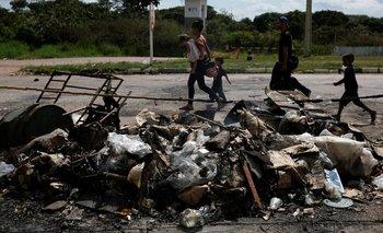 La tensión en Pacaraima va a continuar, según residentes entrevistados por la BBC.