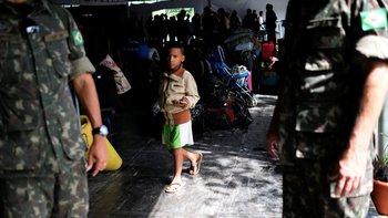 La ciudad de Pacaraima pasó un lunes tranquilo después de un fin de semana tenso entre brasileños y venezolanos. Pero no hizo falta mucho para exponer la herida.