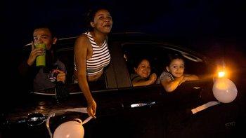 Los residentes organizaron la nullCarrera de la Paznull después de las agresiones del fin de semana.