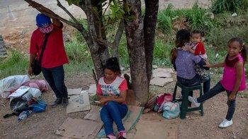 Los venezolanos siguen llegando a Pacaraima.