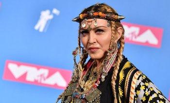 Madonna en los premios VMA<br>