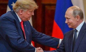 Trump y Putin se reunieron el 16 de julio de este año en Helsinki