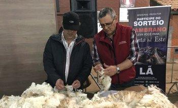 Djalma Puppo y José Luis Trifoglio volverán a ser jurados en el concurso de vellones en Esteio.<br>