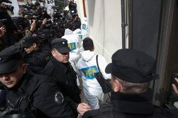 La PFA allanó la casa de la expresidenta y senadora Cristina Fernández.