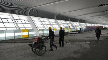 China ha construido 55 nuevos aeropuertos desde 2010.