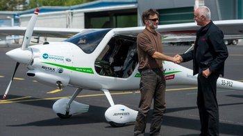 Los aviones eléctricos solo pueden utilizarse ahora para tramos relativamente cortos.