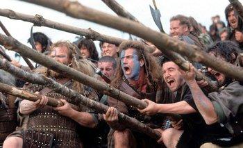 <i>Corazón valiente</i>, de Mel Gibson<br>