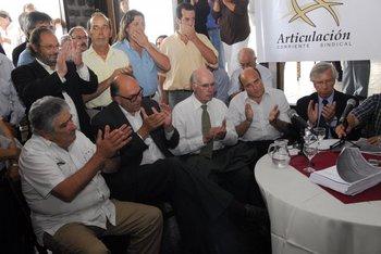 En 2009 el Plenario del FA habilitó a Mujica, Carámbula, Rubio, Martínez y Astori; luego el Congreso eligió tres