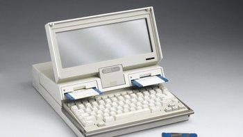 IBM lanzó su primera laptop en 1987, el año en que se convirtió en la primera empresa en el mundo en alcanzar un valor de US$100.000 millones.