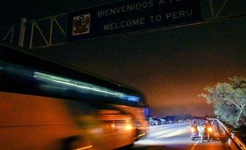 La desesperación invadió a muchos migrantes venezolanos cuando se dieron cuenta de que no llegarían a tiempo a Perú.