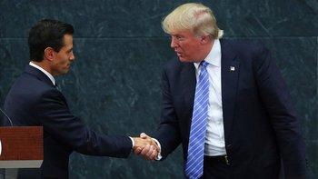 Enrique Peña Nieto y Donald Trump se conocieron durante la campaña presidencial de 2016.