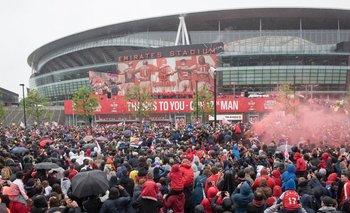 El Emirates Stadium de Londres, casa de Arsenal <br>