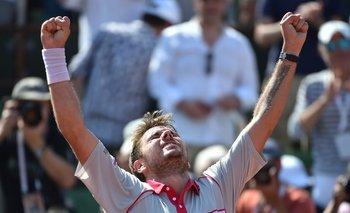 Wawrinka consiguió su segundo título de Grand Slam<br>