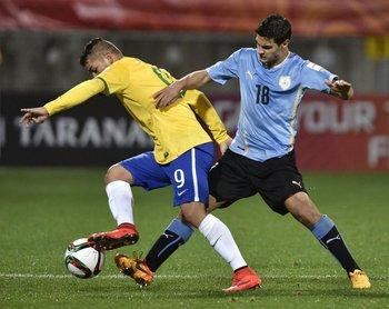 Guillermo Cotugno con la selección sub 20